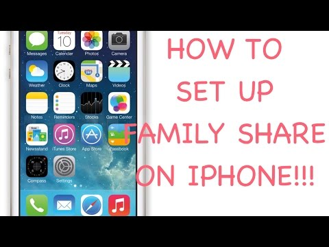 HOW TO SET UP FAMILY SHARE ON IPHONE | HOW TO REMOVE SOMEONE