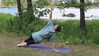 Séance vinyasa Namaste Yoga Grenoble