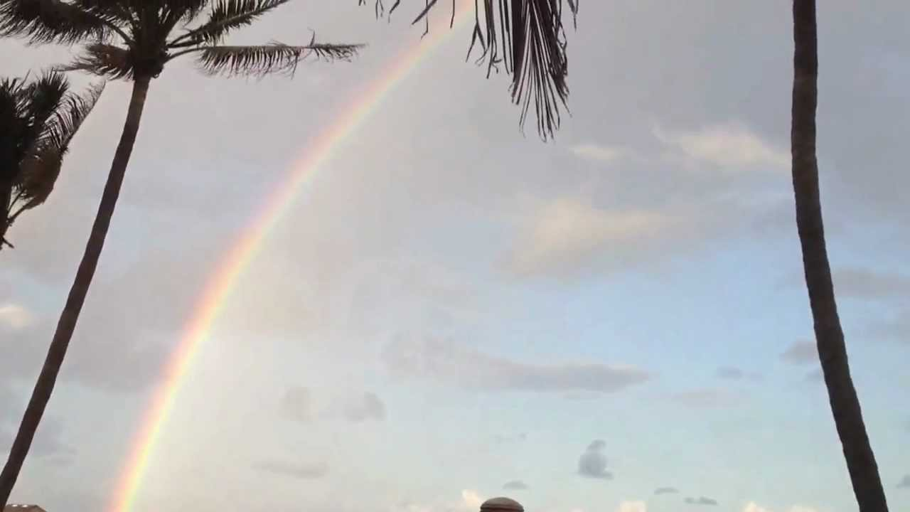 Full Rainbow At Deerfield Beach Florida