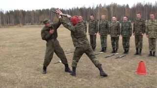 занятия по рукопашному бою со срочниками