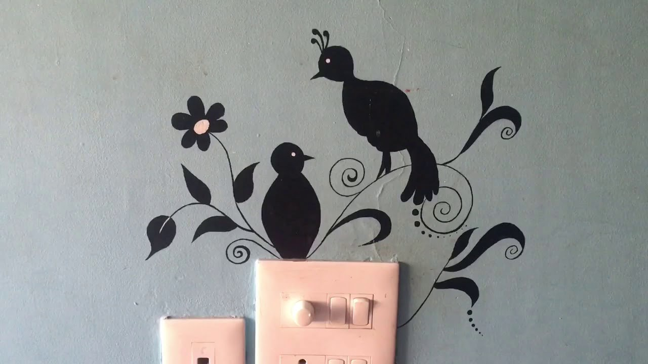 Wall Painting On Switch Board