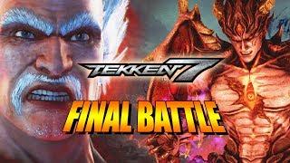 THE FINAL BATTLE - Heihachi Vs. Devil Kazuya: Tekken 7 Story Mode w/YoVideogames Pt. 5 thumbnail