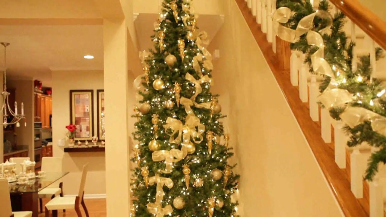 Christmas Home Decorations 2009 - YouTube