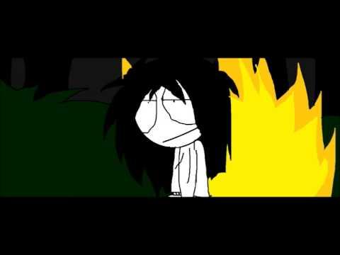 Slenderman Vs Jeff The Killer Animación Youtube