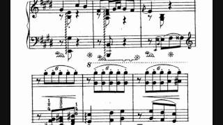 F. Liszt, Le Rossignol, S. 250/1 (1842), with score