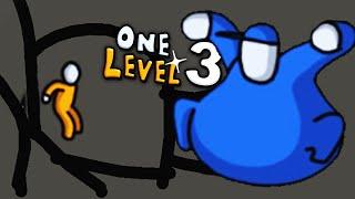 ПОБЕГ СТИКМАНА из ТЮРЬМЫ 11 НАРИСОВАЛ ПЛАН ПОБЕГА и ПОБЕДИЛ БОССА Головоломки в игре One Level 3