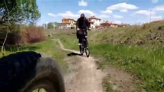 Велопрогулка в Дубовый гай с Жекой
