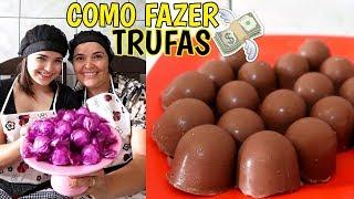 COMO FAZER TRUFAS (GANHANDO DINHEIRO EM CASA) ♥ - Bruna Paula