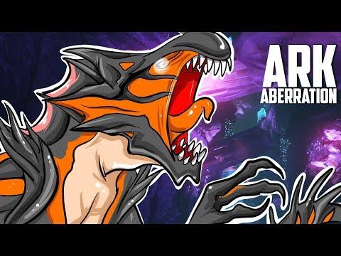 ARK Aberration - TAMED REAPER KING GAMEPLAY, LVL 225 BASILISK #15 - ARK: Survival Evolved Gameplay