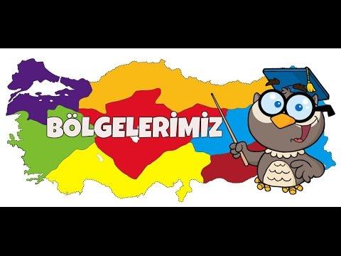 Türkiyenin Coğrafi Bölgeleri Bölgelerimizi Tanıyalım Youtube