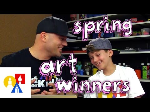 2016 April Art Winners + SYA!
