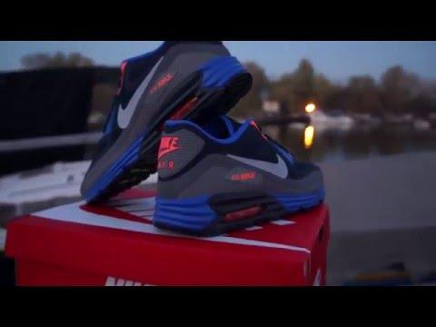 Nike Air Max Lunar90 WR Obsidian Wolf Grey Grey YouTube