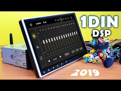 TOP RADIO in 2019! 1 DIN 10 inch! Android 9.0 3/32Gb. Idoing
