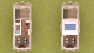 Tiny House Plans On 5th Wheel Trailer  See Description
