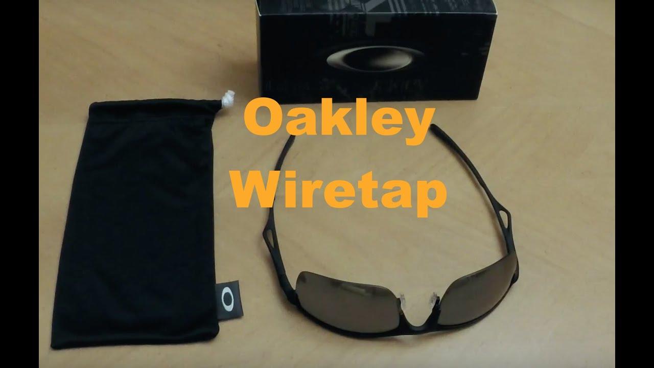 f3ccc858ee507 Oakley Wiretap - YouTube