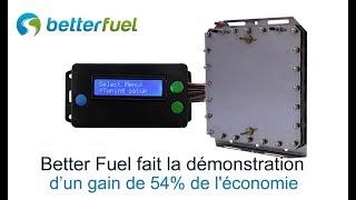 54% de gain en économie de carburant avec hydrogène HHO et contrôleur de capteur ProTuner