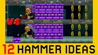 12 Other Ideas with the Super Hammer - Super Mario Maker 2