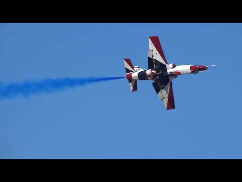 Athens Flying Week 2017 Egyptian Air Force Silver Stars K-8 Karakorum