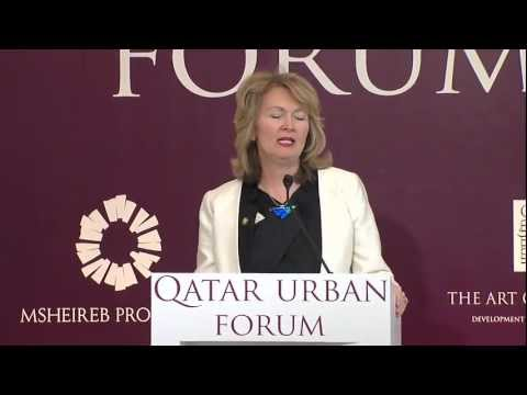 Keynote  Address by Angela Brady at Qatar Urban Forum (MIPIM 2012)