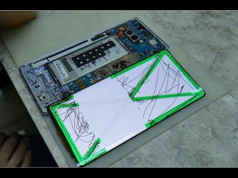 SAMSUNG GALAXY Note 8 / Замена стекла с тачскрином. Неудачный переклей