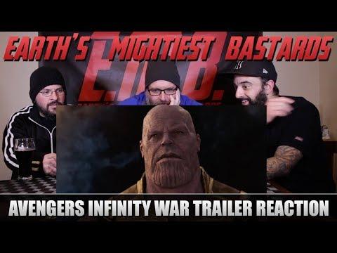 Trailer Reaction: Avengers Infinity War