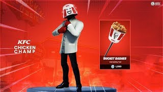 IS THIS FORTNITE'S NEW FREE SKIN? NEW SKIN KFC