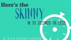 FHA Loan Programs Explained - The Skinny On FHA Loans | NOVA Home Loans
