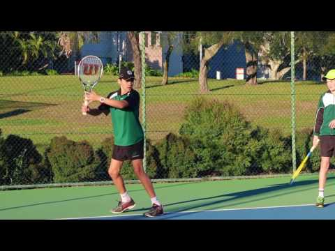 Brisbane Boys' College Tennis Premiership 2016