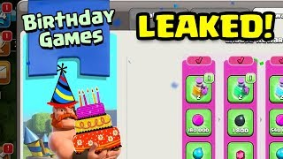 NEW UPDATE LEAK: Birthday Games! | Clash of Clans August 2018 Clashiversary Update CoC