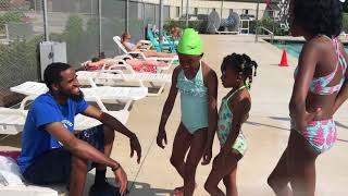 cant believe liese pushed me into the pool 😳 🏊🏾‍♂️😂