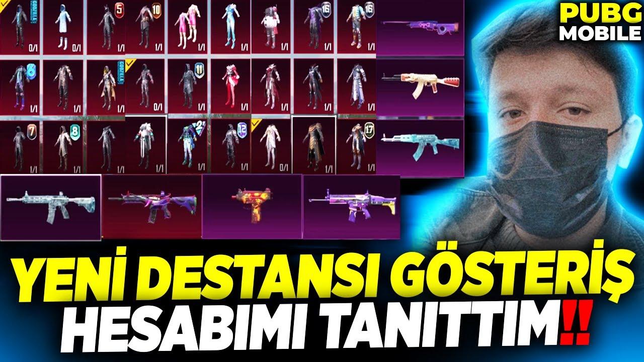 Download YENİ DESTANSI GÖSTERİŞ HESABIMI TANITTIM!!! (OLMAYAN SİLAH YOK) - PUBG Mobile