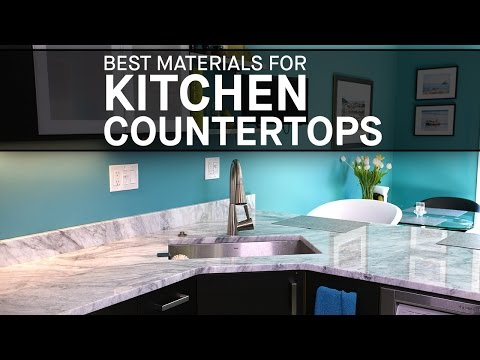 Best Materials for Kitchen Countertops | Marble