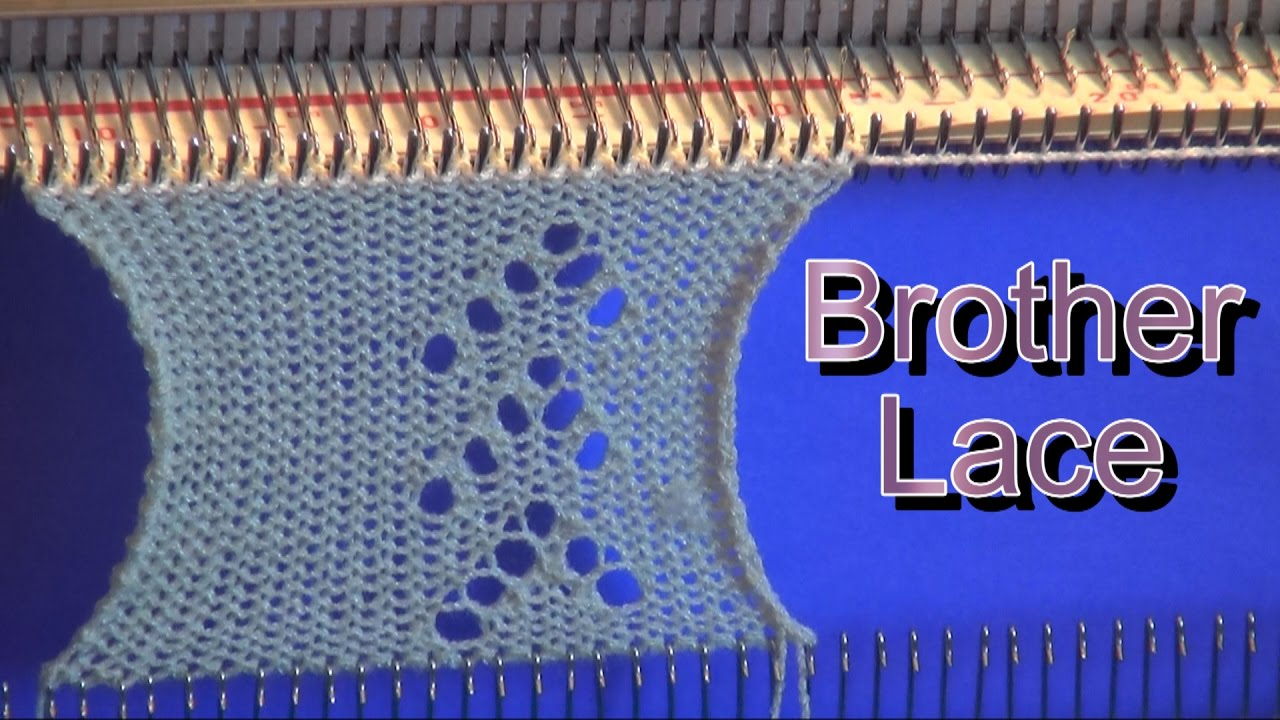 Brother knitting machine lace punch card explained youtube brother knitting machine lace punch card explained bankloansurffo Images