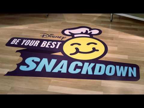 Quinoa | Asher Angel vs. Ethan Wacker | Be Your Best Snackdown | Disney Channel