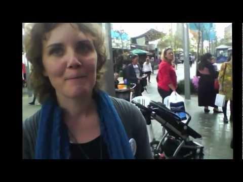 """""""The Breast Feeding Train Express"""" World Breastfeeding Week Perth 2012"""