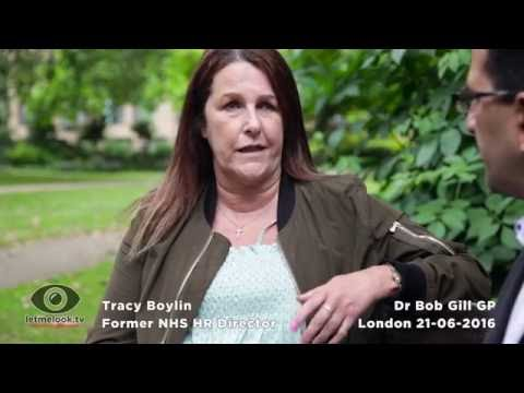 Dr Bob Gill & Tracy Boylin NHS Personnel Director. JUNIOR DOCTORS  NEW CONTRACT. Full Interview