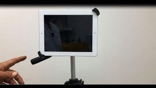 "iPad Pro 10.5"" / 12.9"" / 9.7"" Universal Tablet Tripod Mount Adapter"