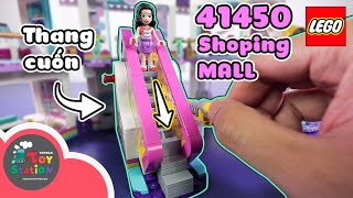 Anhktay built the entire Shopping Mall with the LEGO Friends 41450 set and tested the new ToySt LEGO Dots line