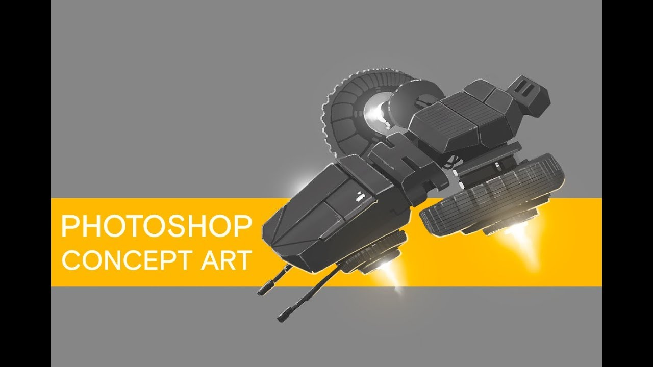 How To Concept Art Photoshop