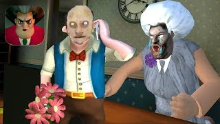 Scary Teacher 3D GRANNY - Gameplay Walkthrough Part 31 - GRANNY TEACHER Chapter 3 (Ios,Android)