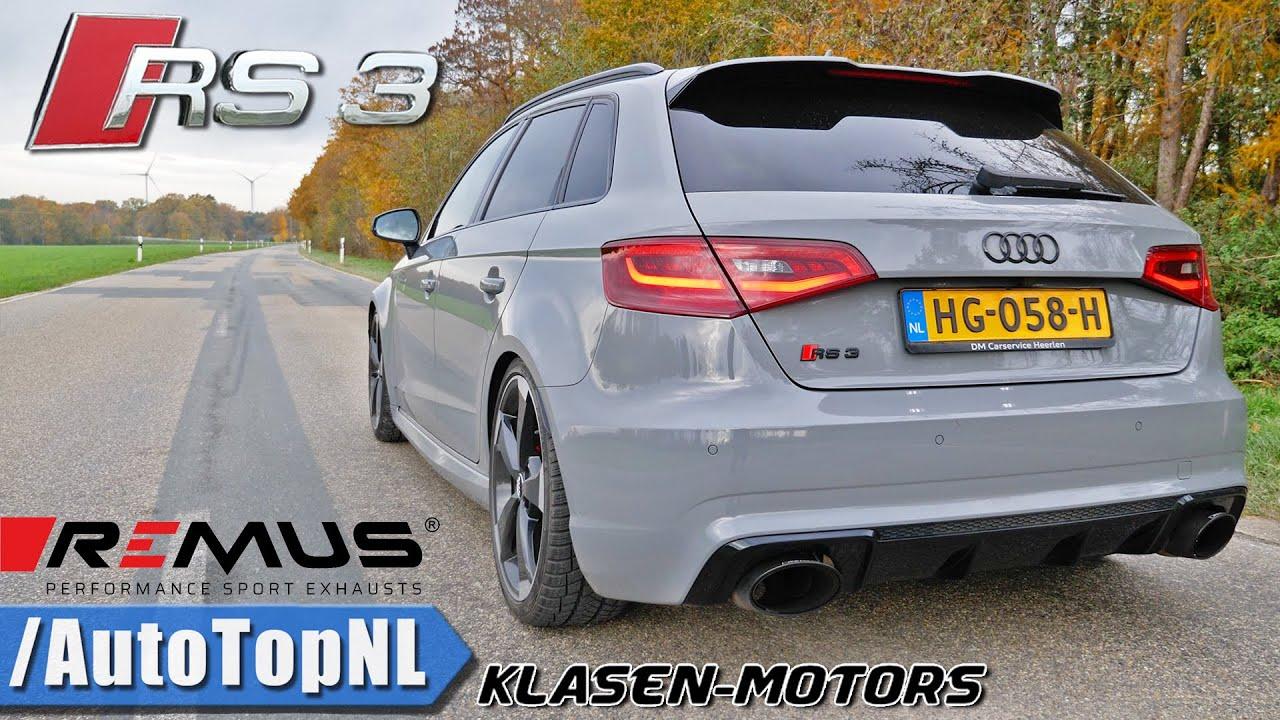 AUDI RS3 564HP KLASEN | VERY LOUD! REMUS Exhaust SOUND by AutoTopNL