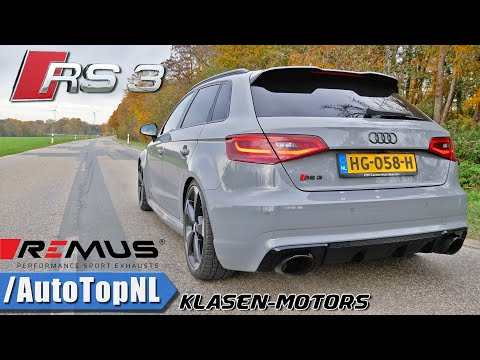 AUDI RS3 564HP KLASEN   VERY LOUD! REMUS Exhaust SOUND By AutoTopNL