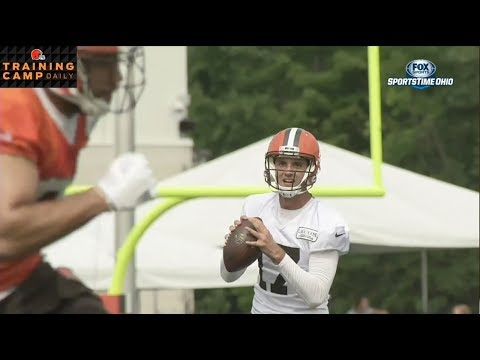 Brock Osweiler sits down with Jim Donovan | BROWNS TRAINING CAMP 2017