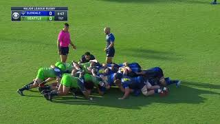 Tim Metcher 2018 Major League Rugby Highlights