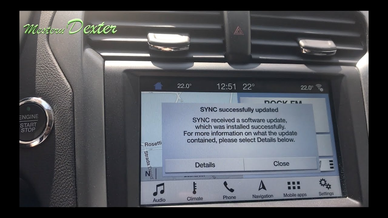 ford sync 3 update oficial youtube. Black Bedroom Furniture Sets. Home Design Ideas