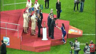 Japan v USA (Award Ceremony 1/2) - FIFA Women