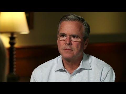 Jeb Bush talks to CNN
