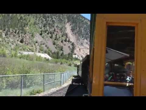 full ride on Georgetown Loop narrow gauge railroad 1080p (part 1 of 3)