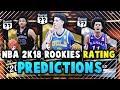 NBA 2K18 MyTEAM ROOKIE PLAYER RATINGS PREDICTIONS!! *TOP 5 PICKS* Ft. Lonzo Ball | NBA 2K18 MyTEAM