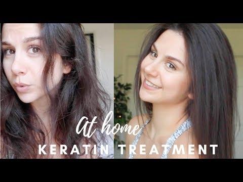 FRIZZ FREE AT HOME ION KERATIN TREATMENT | ASHLEY GAITA